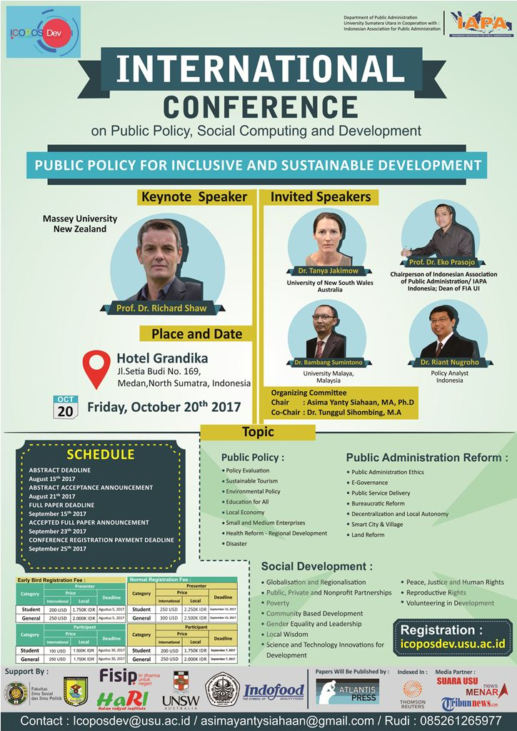 International Conference On Public Policy, Social Computing And Development